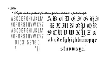Font Design/Band Poster Lesson Plan