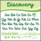 Font: Discovery - cursive script font (True Type Font)