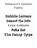 Font Five Pack