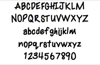 Font For Personal or Commercial Use: Fun Times