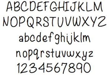 Font For Personal or Commercial Use: Playing Around