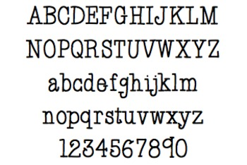 Font For Personal or Commercial Use: Prim and Proper