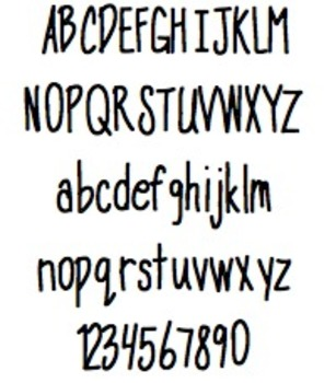 Font For Personal or Commercial Use: Skinny Minny