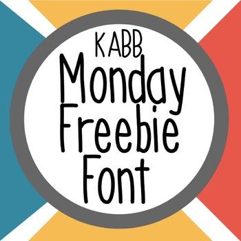 Font Freebie From KABB Fonts