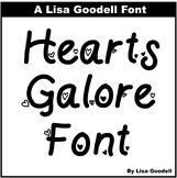 Hearts Galore Font