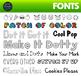 Font Growing Bundle • Letter Tracing Font • Handwritten Fonts - Dot it Fonts