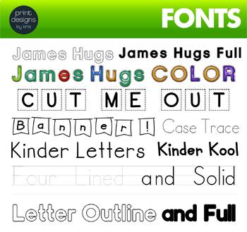 Font Endless Bundle • Letter Tracing Font • Handwritten Fonts - Dot it Fonts