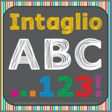 Font: Intaglio (True Type Font)