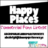 Bubbles Font - Happy Places {Commercial License}