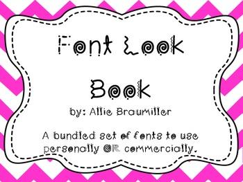 Font Look Book