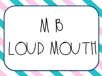 Font * MB LOUD MOUTH - For personal & commercial use.