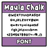 Font - Maula Chalk