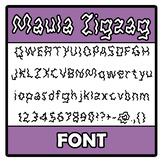 Font - Maula Zigzag