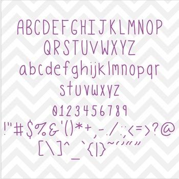 Font Modestine TTF Font with Glyphs