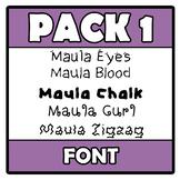 Font - Pack 1