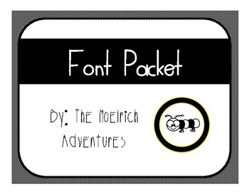 Fonts - Commercial and Personal Use