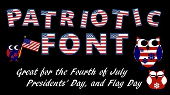 Font - Patriotic