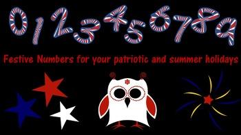Font - Patriotic set 2