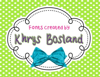 Font - Personal or Commercial Use: KB BlockParty