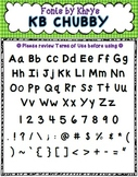 Font - Personal or Commercial Use: KB Chubby