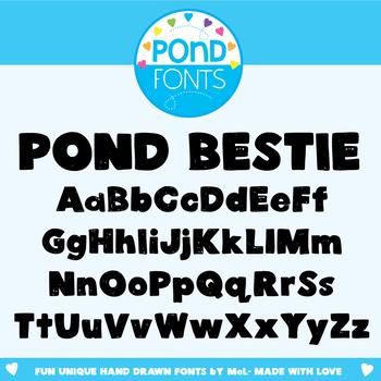 Font: Pond Bestie