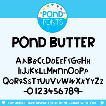 Font: Pond Butter