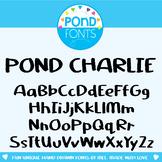 Font: Pond Charlie