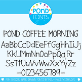 Font: Pond Coffee Morning