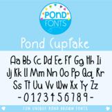 Font - Pond Cupfake
