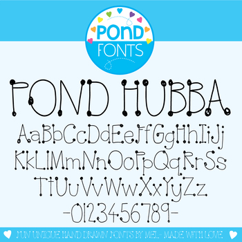Font: Pond Hubba