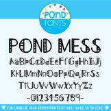 Font - Pond Mess