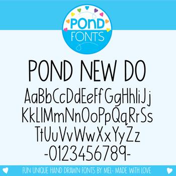 Font: Pond New Do
