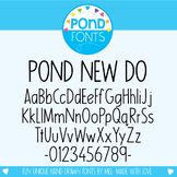 Font: Pond New Do