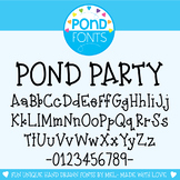 Font - Pond Party