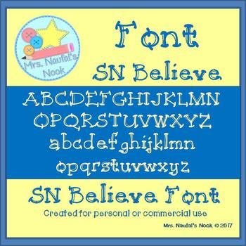 Font SN Believe