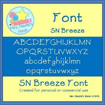 Font SN Breeze