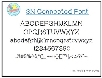 Font SN Connected