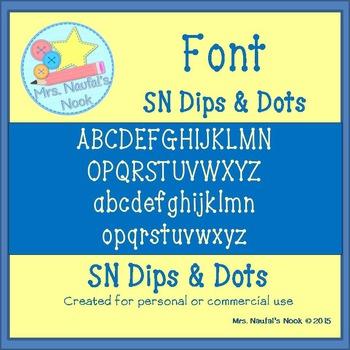Font SN Dips and Dots
