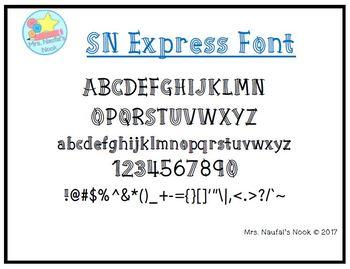 Font SN Express