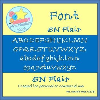 Font SN Flair