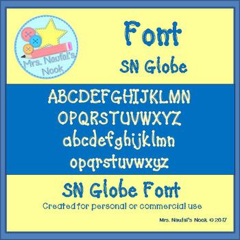 Font SN Globe