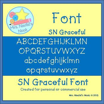 Font Commercial Use SN Graceful