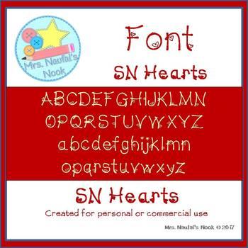 Font SN Hearts