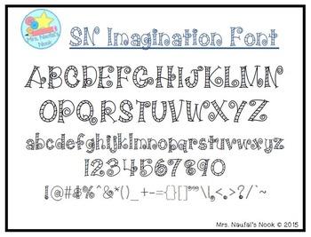 Font SN Imagination