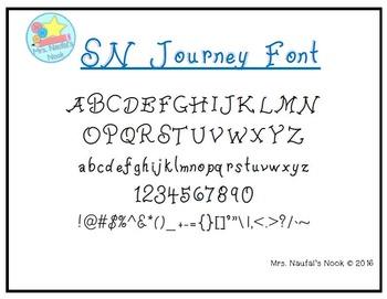 Font SN Journey