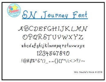 Font Commercial Use SN Journey