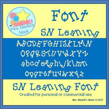 Font SN Leaning