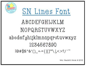 Font SN Lines