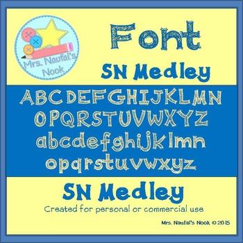 Font SN Medley