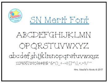 Font SN Merit